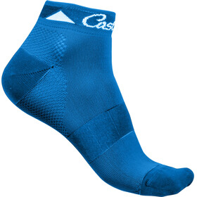 Castelli Brillante Socks Women matte blue